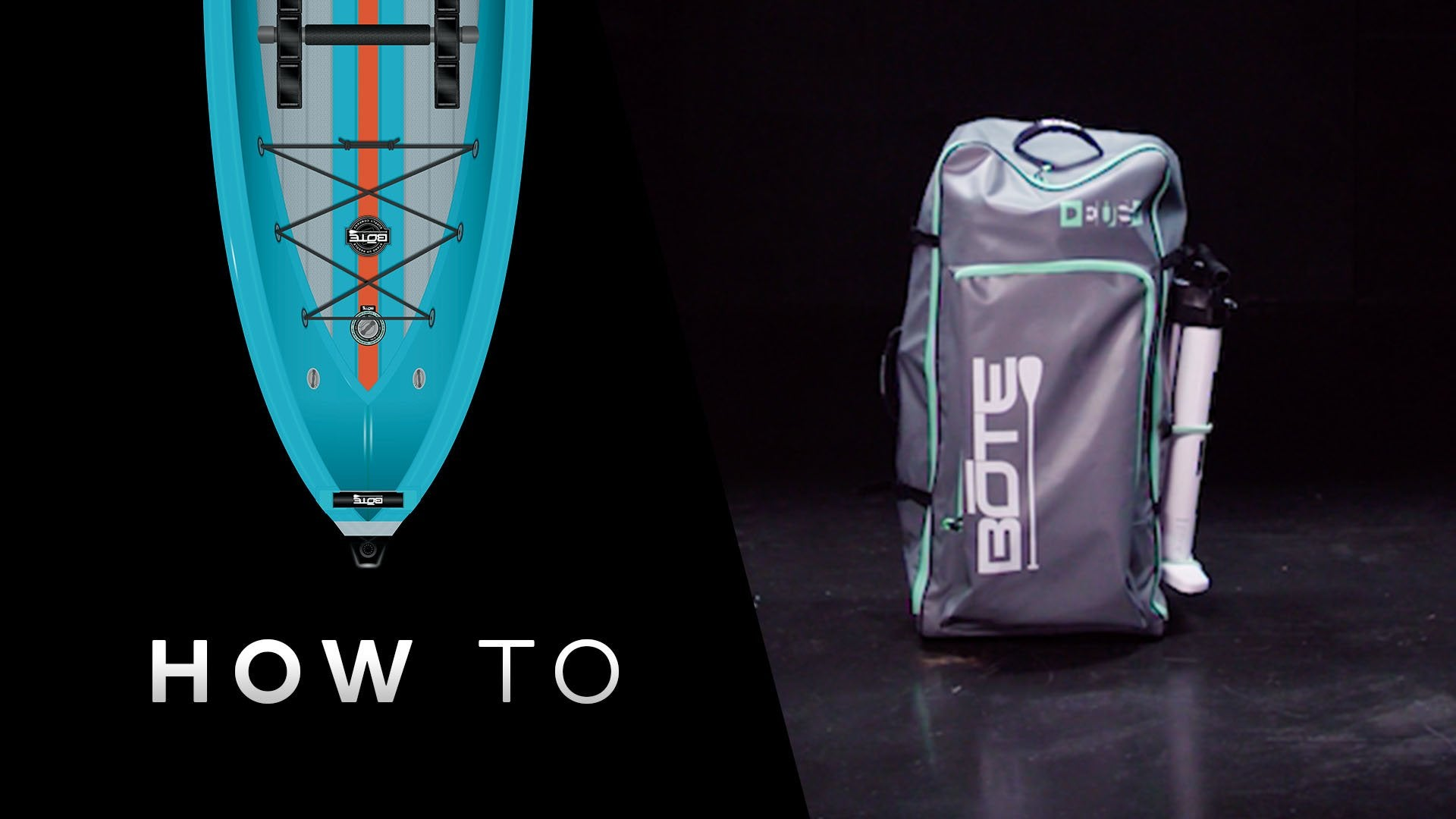 How to Fold the DEUS Aero Kayak