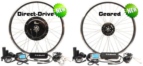 Rear Wheel Conversion Kit - Geared