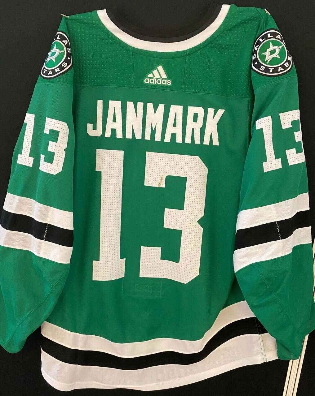 MATTIAS JANMARK 18/19 GAME WORN HOME JERSEY SET 3