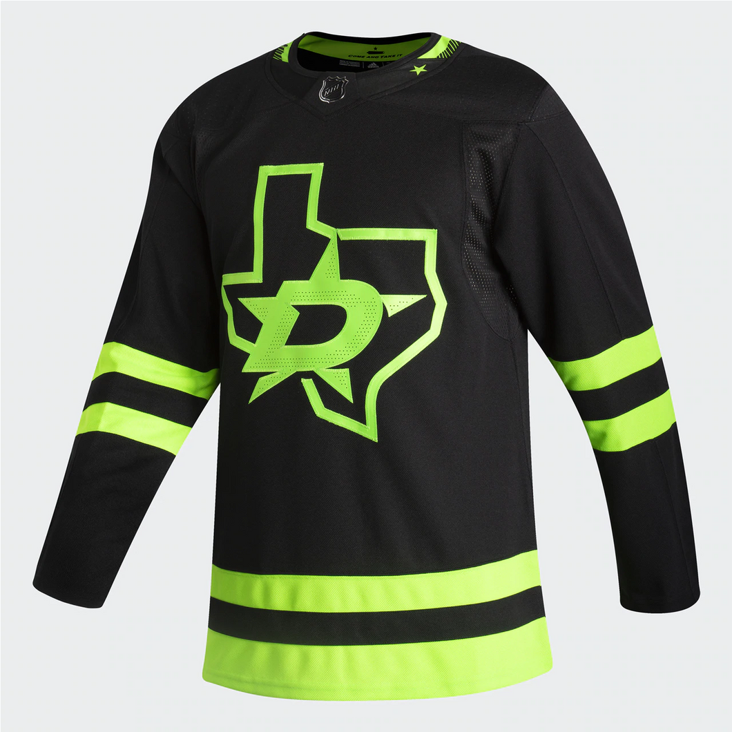 DALLAS STARS ADIDAS BLACKOUT 3RD AUTHENTIC PRO JERSEY