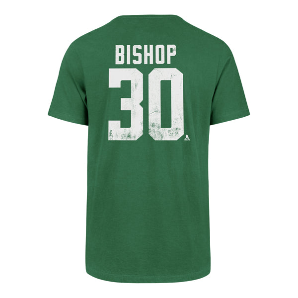 DALLAS STARS 47' BEN BISHOP NAME AND NUMBER TEE