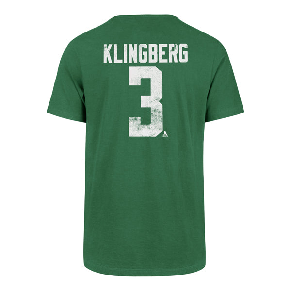 DALLAS STARS 47' JOHN KLINGBERG NAME AND NUMBER TEE