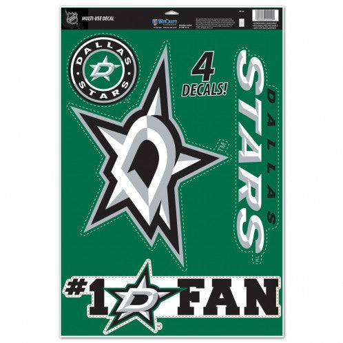 DALLAS STARS 11X17 ULTRA DECAL