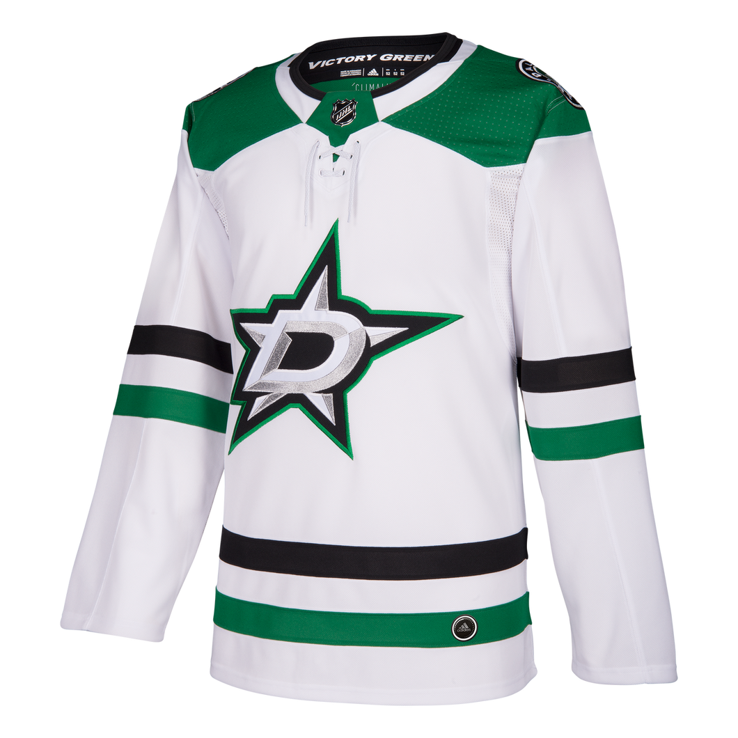 DALLAS STARS ADIDAS AUTHENTIC PRO WHITE JERSEY