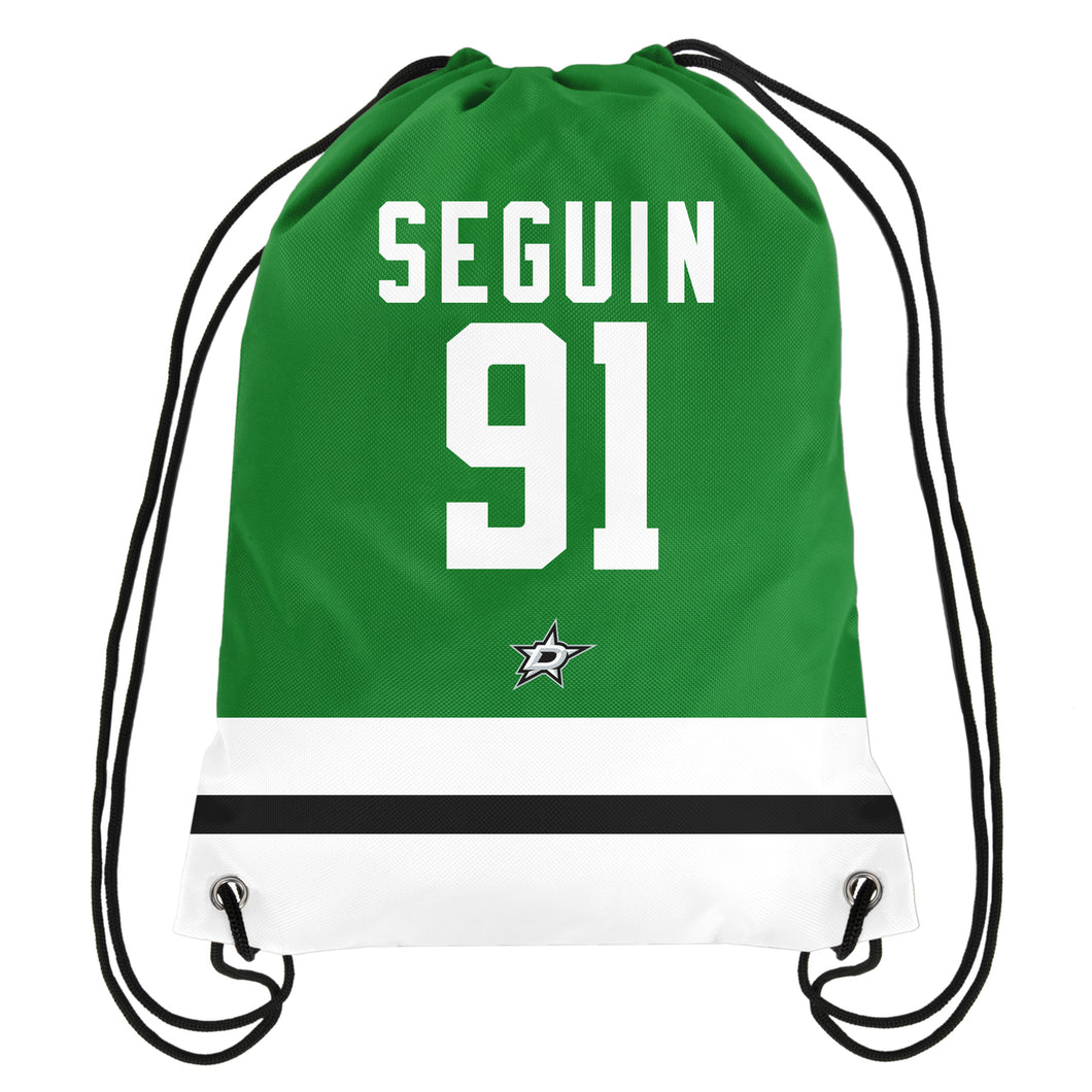 DALLAS STARS SEGUIN DRAWSTRING BACKPACK