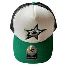 Load image into Gallery viewer, DALLAS STARS 47' BRAND SEQUIN STAR SNAPBACK