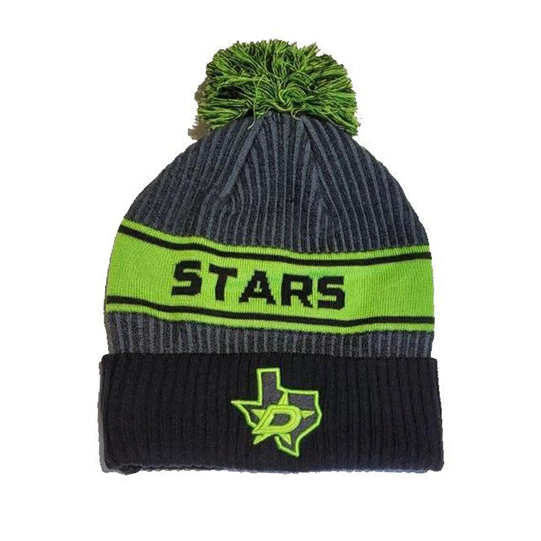 DALLAS STARS FANATICS AUTHENTIC PRO KNIT W/POM