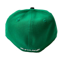 Load image into Gallery viewer, DALLAS STARS NEW ERA FITTED FLAT BILL HAT
