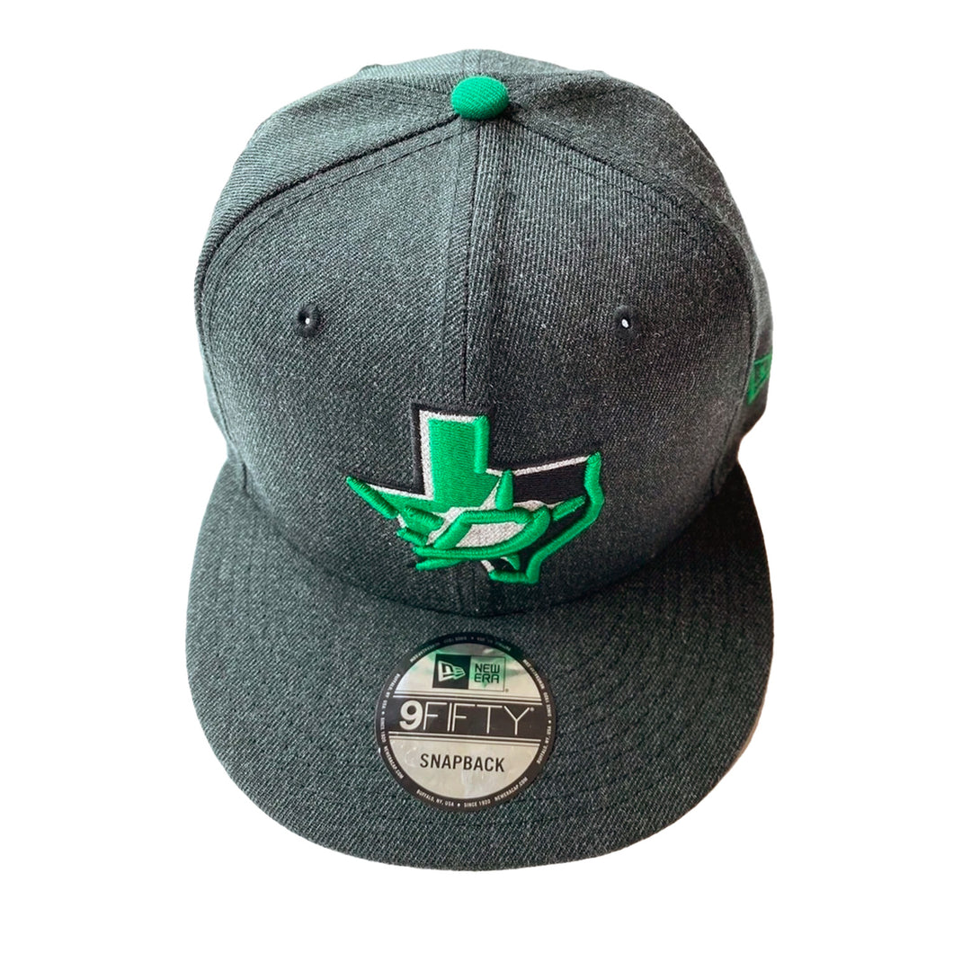 DALLAS STARS NEW ERA GRAY SNAPBACK HAT