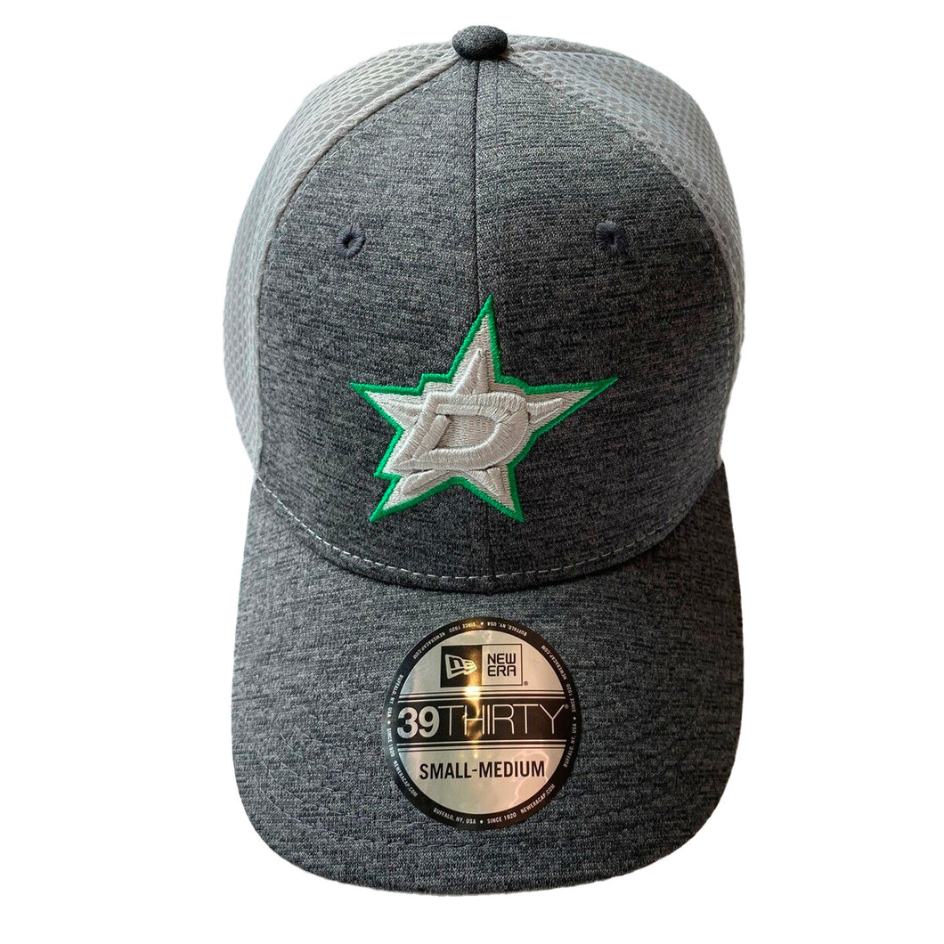 DALLAS STARS NEW ERA GRAY STRETCH FIT HAT