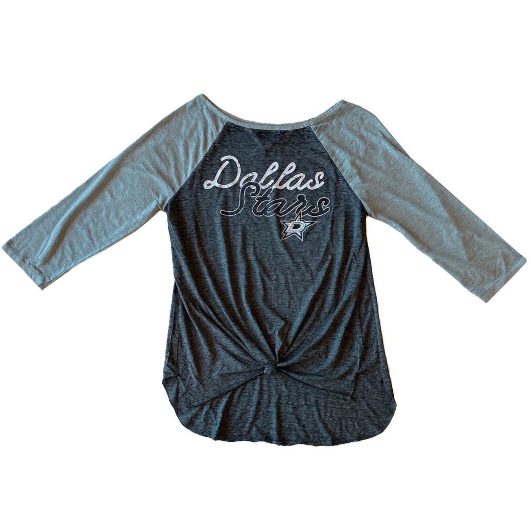 DALLAS STARS WOMEN'S CONCEPT SPORTS LOYALTY 3/4 SLEEVE