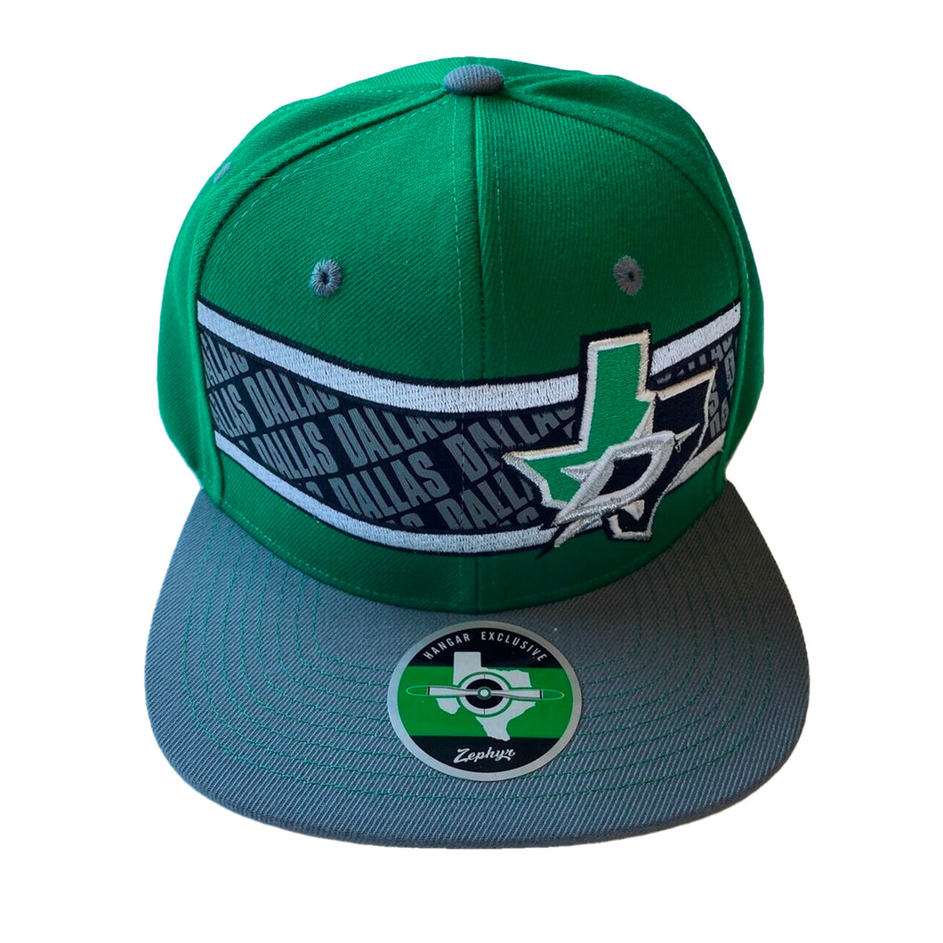 DALLAS STARS ZEPHYR DALLAS STRIPE SNAPBACK