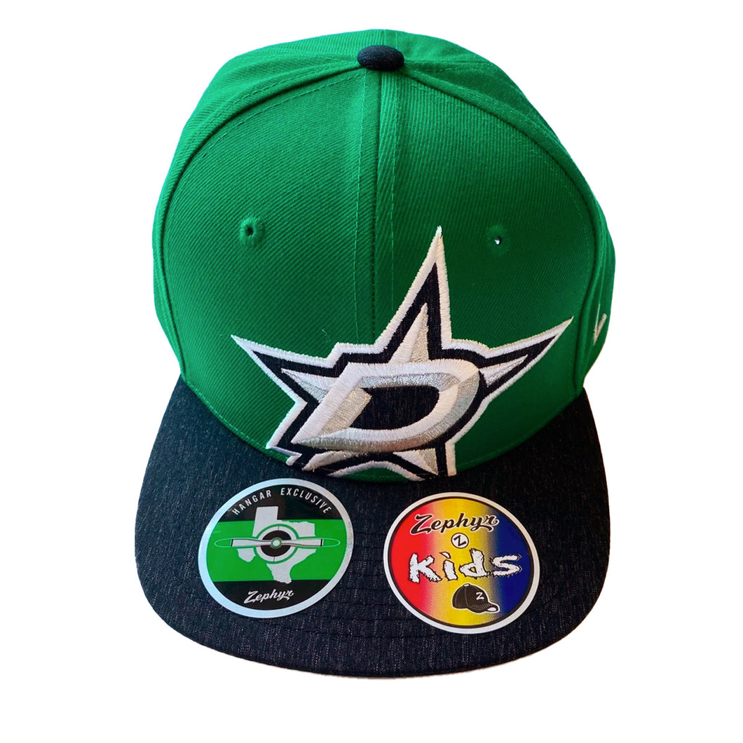DALLAS STARS ZEPHYR KIDS D STAR LOGO HAT