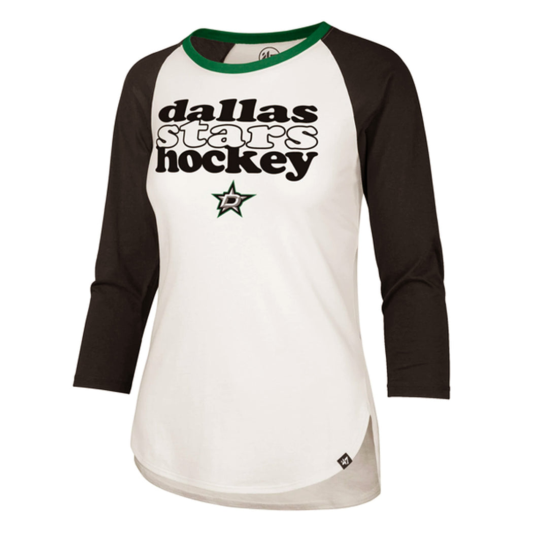 DALLAS STARS '47 WOMEN'S HOLLOW STACK RAGLAN