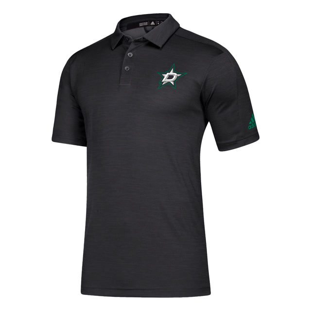 DALLAS STARS ADIDAS BLACK GAME MODE POLO