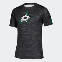 Load image into Gallery viewer, DALLAS STARS ADIDAS GAME MODE BLACK TRAINING TEE