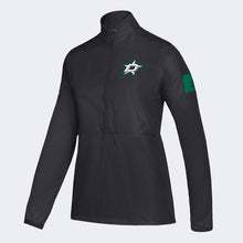 Load image into Gallery viewer, DALLAS STARS ADIDAS W GAME MODE WOVEN 1/4 ZIP