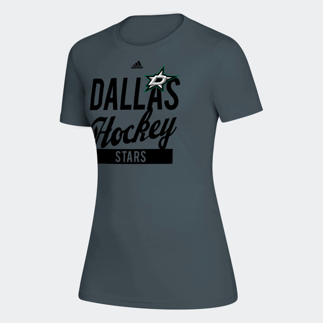 DALLAS STARS ADIDAS W HOCKEY STACK S/S