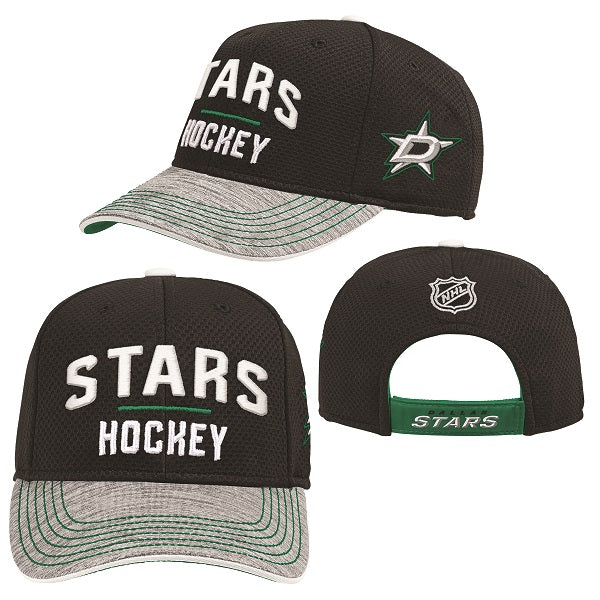 DALLAS STARS YOUTH BLUELINE ADJ CAP
