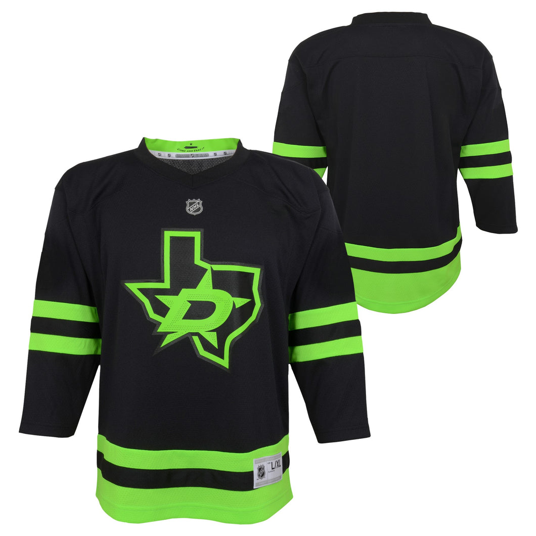 DALLAS STARS OUTERSTUFF INFANT BLACKOUT 3RD JERSEY