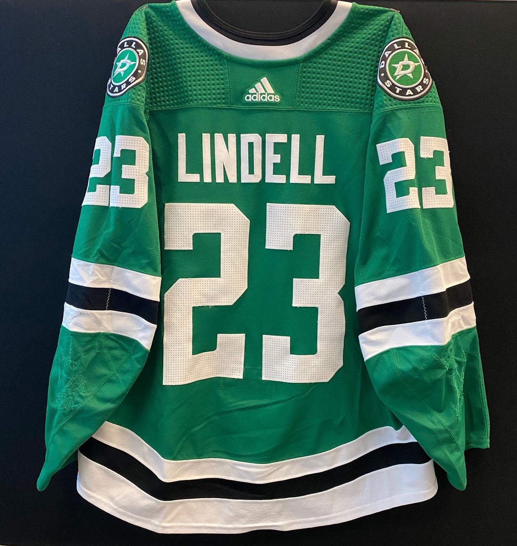 ESA LINDELL 19/20 GAME WORN HOME JERSEY SET 1