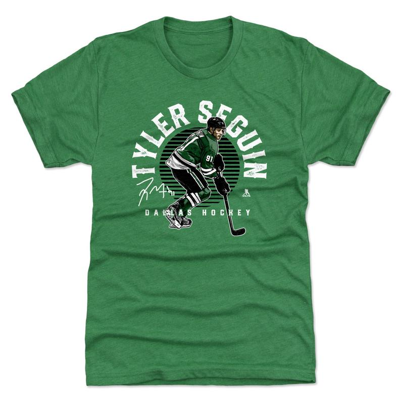 DALLAS STARS 500 LEVEL TYLER SEGUIN EMBLEM S/S TEE