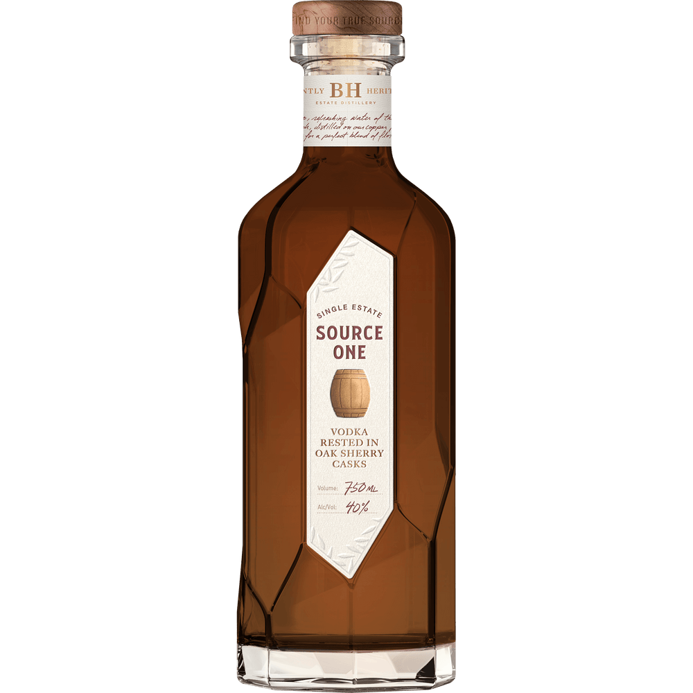 <span>Source One</span> Single Estate Vodka, Rested in Sherry Oak Casks <span>(750ml)</span>
