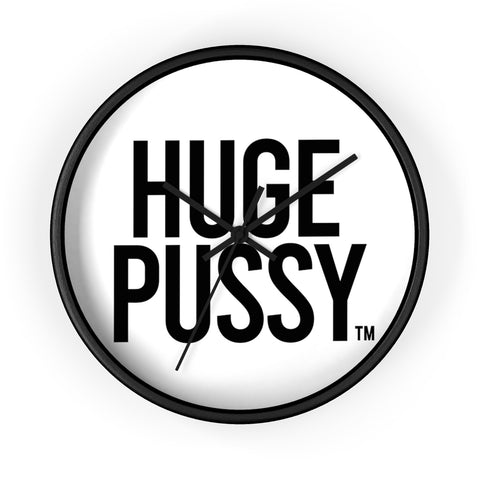 HUGE PUSSY WALL CLOCK