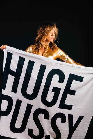 HUGE PUSSY FLAG - SOLD OUT