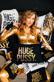 HUGE PUSSY GOLD PILLOW CASE (LIMITED EDITION)