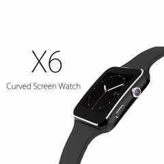 Bluetooth Smart Watch X6 Sport Fitness Tracker Camera Radio Sim Card For Apple iPhone Android Phone