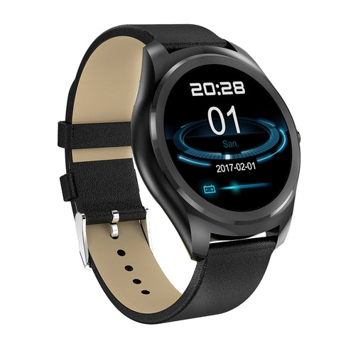 2018 Smart Watch Heart Rate Monitor Bluetooth Smart Watch Wireless charging Support Call Reminder Fitness