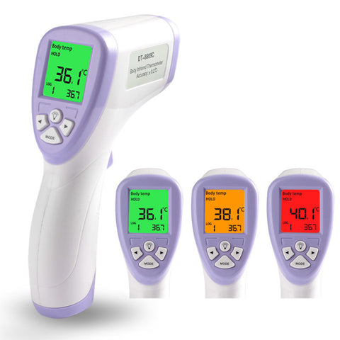 Digital Thermometer Infrared Baby Adult Forehead Non-contact Infrared Thermometer with LCD Backlight