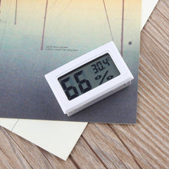Digital Thermometer Hygrometer Mini Digital Lcd Thermometer Humidity Temperature Meter Indoor