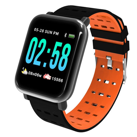 Smart Watch Sport Fitness Tracker Sleep Monitor Waterproof Sport Watch Band for IOS Android