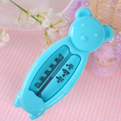 Cartoon Bear Shape Baby Shower Bath Water Thermometer Temperature Test Tool