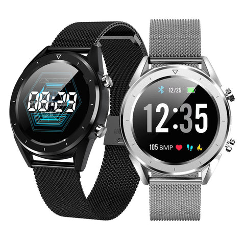 Men Smart Watch IP68 Waterproof ECG Blood Pressure Monitor Fitness Smart Tracker Sport Smartwatch