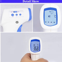Non-Contact Infrared Thermometer: Family Digital Thermometer Forehead Thermometer Gun for Adults and Baby A2004-2