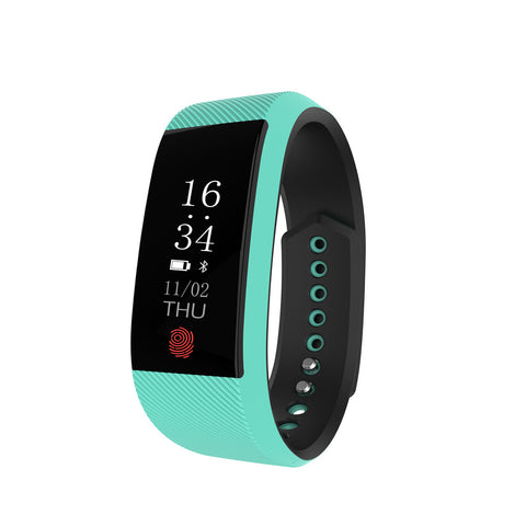 W808S Newest Smart Bracelet Smartphone Heart Rate Monitor Cardiac Activity Fitness Tracker