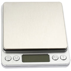 i2000 3kg 0.1g Mini Digital Scale Stainless Steel Platform Weighing Tool with Tray