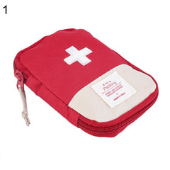 Outdoor Camping Home Survival Portable First Aid Kit Bag Case Pill Tablet Pouch