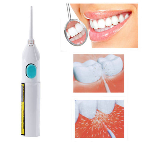 No Batteries Portable Tooth Pick Braces  Clean Whiten Dental Water Jet Cords