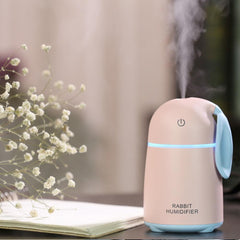 USB Ultrasonic Air Humidifier Rabbit Car Atomizer Air Purifier
