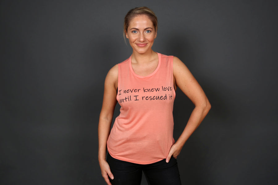 "Women's ""I Never Knew Love"" Tank Top"