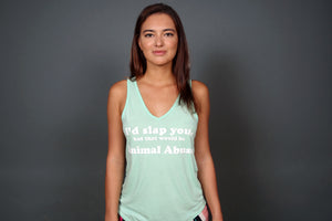 """I'd Slap You"" Tank Top"