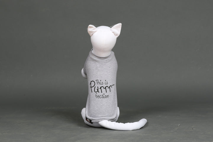 "Cat's ""This Is Purrr-fection"" Tee"