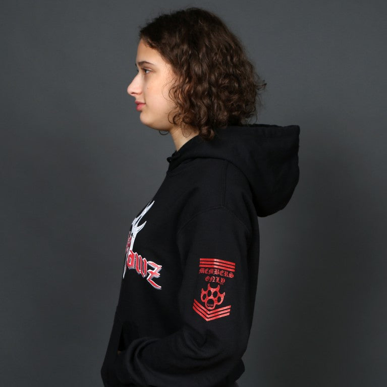"Women's ""Members Only"" Hooded Sweatshirt"