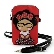 Load image into Gallery viewer, Rose Headed Wreath Girl - Pouch Bag