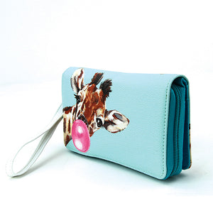 Giraffe Bubble Gum Wallet