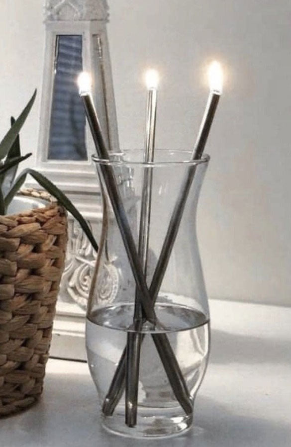 Everlasting Stainless Steel Candles